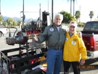 Julius Schnell with Jay Leno